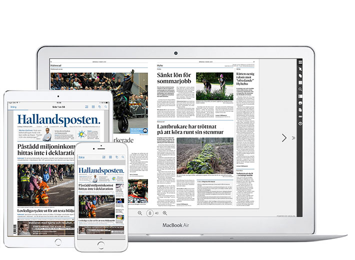 Helgprenumeration inklusive e-tidningen.